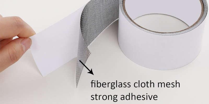 Capa adhesiva de cinta de malla de fibra de vidrio JOVITEC para reparaciones comprar online barata baratas barato baratos precio precios oferta malla ofertas mallas cintas