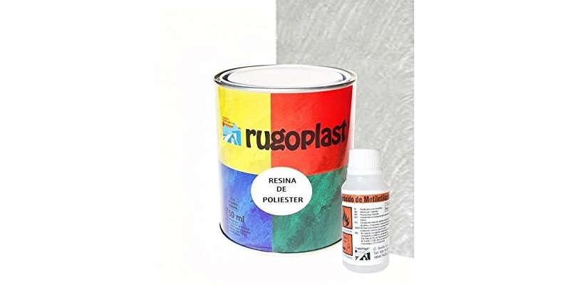Fibra de vidrio y resina de poliéster para reparaciones RUGOPLAST