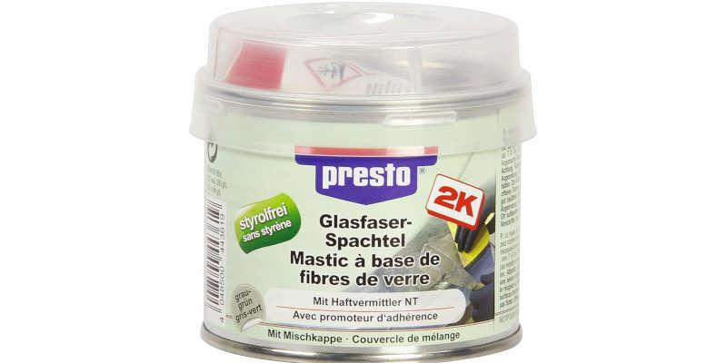 Masilla de fibra de vidrio presto